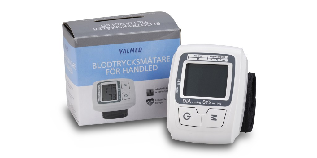 Blodtryksmåler til håndled