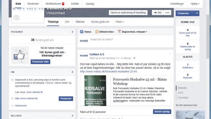 ValMed på Facebook – kom forbi og hils på!